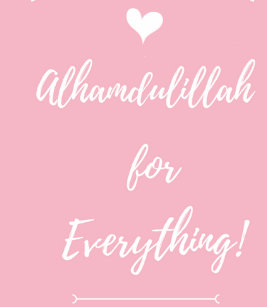 Alhamdulillah gifts gift ideas zazzle uk alhamdulillah for everything journal thecheapjerseys Images