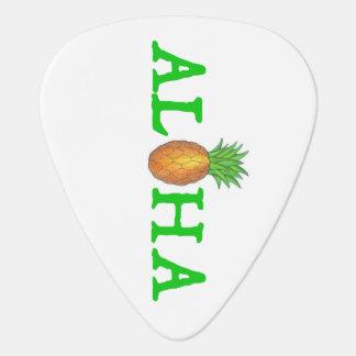 ALHOA Hawaii Hawaiian Pineapple Tropical Fruit Guitar Pick