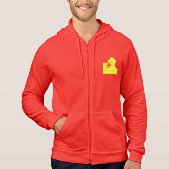 Ali G-inspired Save Africa Spain silhouette hoodie