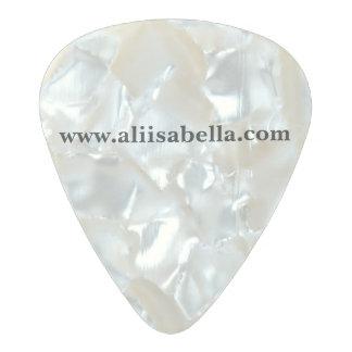 Ali Isabella guitar picks Pearl Celluloid Guitar Pick
