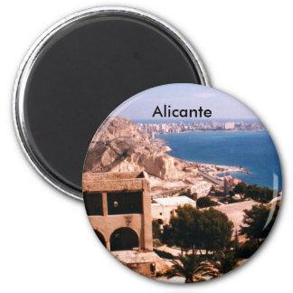 Alicante 6 Cm Round Magnet