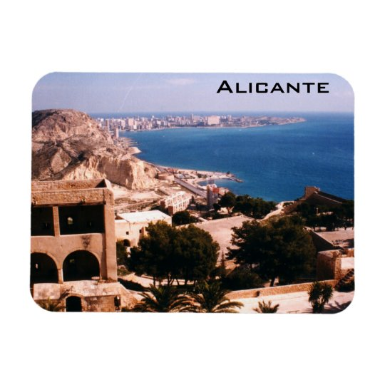 Alicante Rectangular Photo Magnet