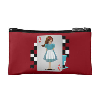 Alice 3D Flying Cards - Cut Out Cosmetics Bags