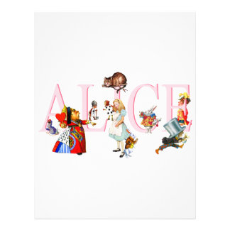 ALICE AND FRIENDS 21.5 CM X 28 CM FLYER