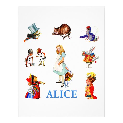 ALICE AND FRIENDS FLYER