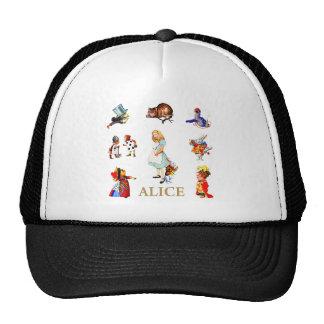 Alice and Friends in Wonderland Cap