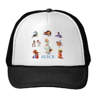 Alice and Friends in Wonderland Mesh Hat