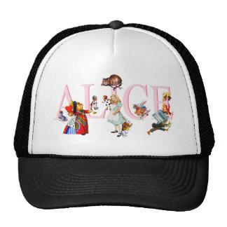 ALICE AND HER FRIENDS IN WONDERLAND HAT