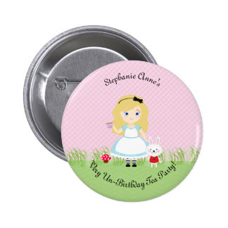 Alice and Her Tea Party 6 Cm Round Badge