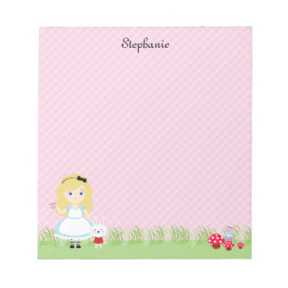 Alice and Her Tea Party Notepads