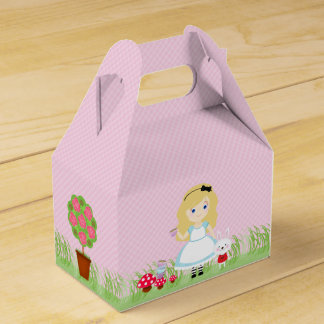 Alice and Her Tea Party Party Favour Box
