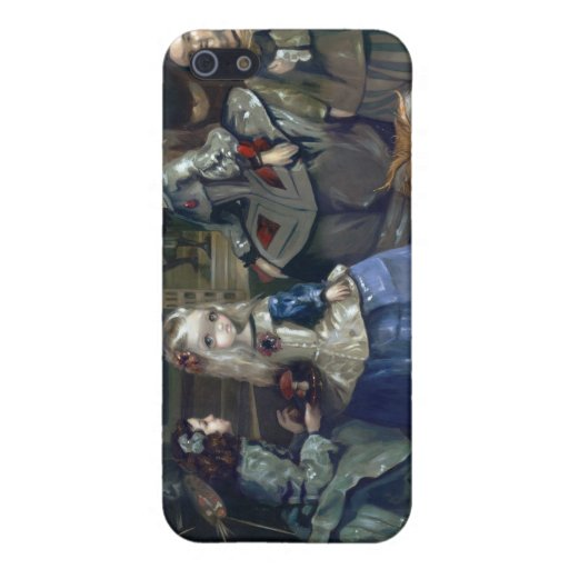 """""""Alice and Las Meninas""""  iPhone 5 Covers"""