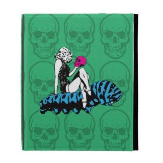 Alice and the blue caterpillar iPad folio case