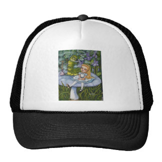 Alice and the Catapillar Cap