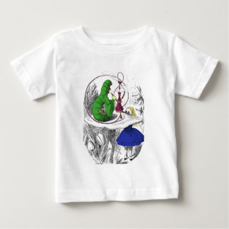 Alice and the Caterpillar Baby T-Shirt