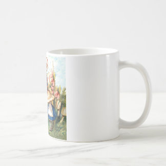 Alice and the Caterpillar in Wonderland Coffee Mugs