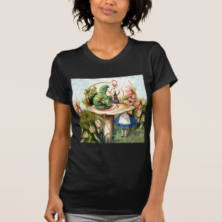 Alice and the Caterpillar in Wonderland T-Shirt