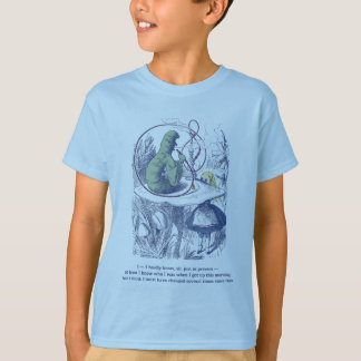 Alice and the Caterpillar Kid's Tee