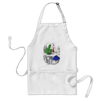 Alice and the Caterpillar Standard Apron