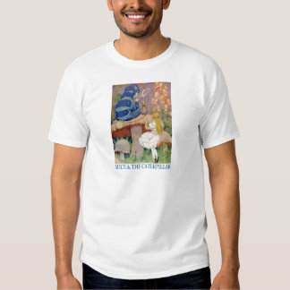 Alice and the Caterpillar T Shirt