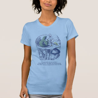 Alice and the Caterpillar Women's Slim Fit Tee