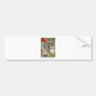 Alice and the Cheshire Cat Bumper Stickers