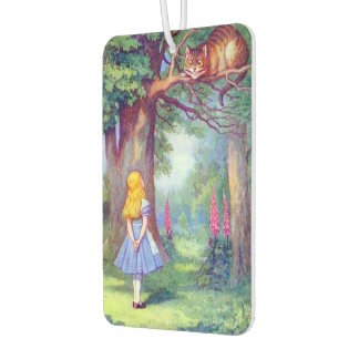 Alice and the Cheshire Cat Car Air Freshener