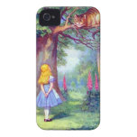 Alice and the Cheshire Cat Case-Mate iPhone 4 Cases