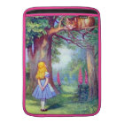 Alice and the Cheshire Cat Full Colour MacBook Sleeve