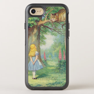 Alice and the Cheshire Cat OtterBox Symmetry iPhone 8/7 Case