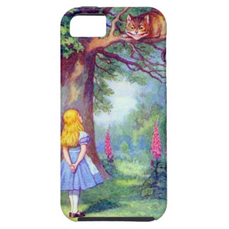 Alice and the Cheshire Cat Tough iPhone 5 Case
