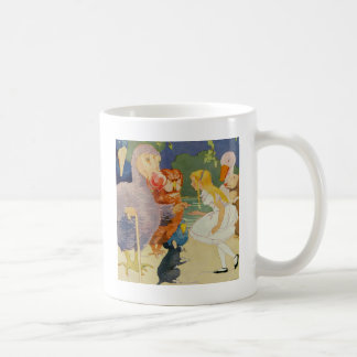 Alice and the Dodo Bird at the Caucus Race Coffee Mug