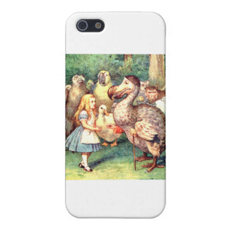 Alice and the Dodo Bird at the Caucus Race iPhone 5/5S Case