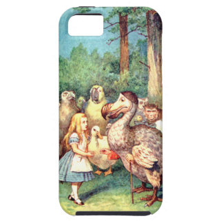 Alice and The Dodo Bird in Wonderland iPhone 5 Covers