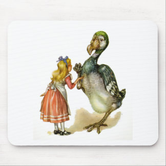 Alice and the Dodo Bird Mouse Mat