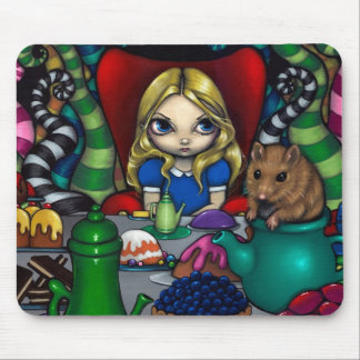 """Alice and the Dormouse"" Mousepad"