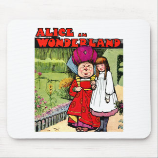 Alice and the Duchess in Wonderland Mousepads
