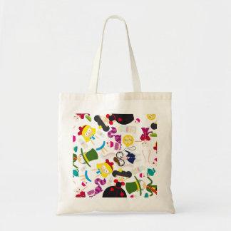 Alice and the gang budget tote bag