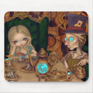 """""""Alice And The Mad Hatter"""" Mousepad"""