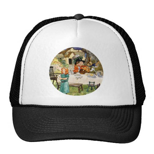Alice and the Mad Hatter's Tea Party Hat