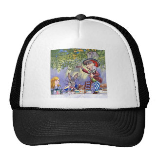 Alice and the Mad Hatter's Tea Party Hats