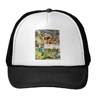 Alice and the Mad Hatter's Tea Party Cap