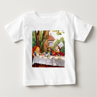 Alice and the Mad Hatter's Tea Party in Wonderland T-shirts