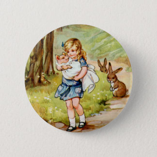 Alice and the Pig Baby 6 Cm Round Badge