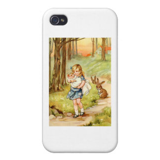 Alice and the Pig Baby Cover For iPhone 4