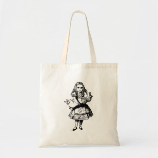 Alice and the Pig Baby Inked Black Tote Bag