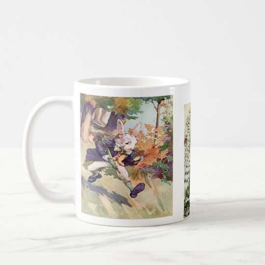 Alice and the Rabbit ~ Coffee Cup /