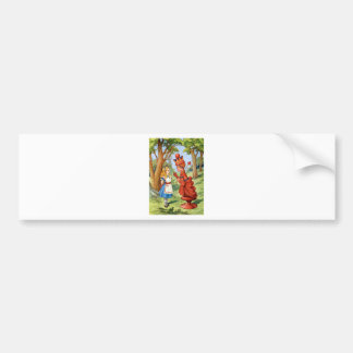 ALICE AND THE RED QUEEN BUMPER STICKERS
