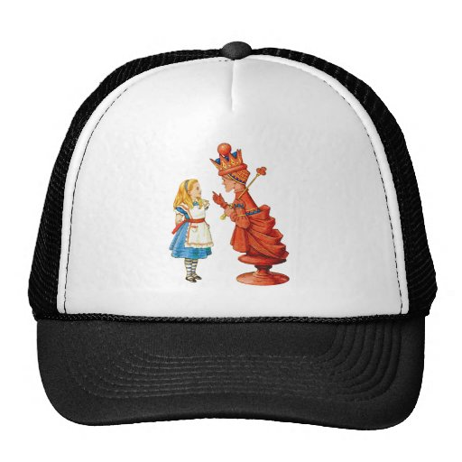 Alice and the Red Queen Hat