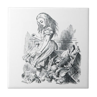 Alice and the Squirrels Tile